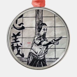 Chuugi Duty and Loyalty by Carter L Shepard Metal Ornament