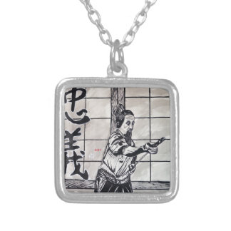 Chuugi Duty and Loyalty by Carter L Shepard Silver Plated Necklace
