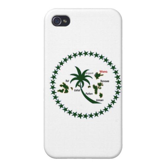 Chuuk Flag iPhone 4 Covers
