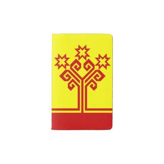 Chuvashia Flag Pocket Moleskine Notebook