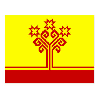 Chuvashia Flag Postcard