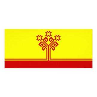 Chuvashia Flag Rack Card