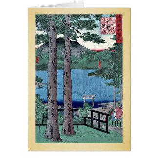 Chuzenji Lake by Utagawa,Hiroshige Card