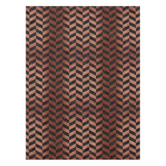 CHV1 BK MARBLE COPPER TABLECLOTH