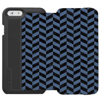 CHV1 BK-MRBL BL-DENM INCIPIO WATSON™ iPhone 6 WALLET CASE