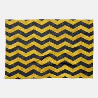CHV3 BK-YL MARBLE HAND TOWELS