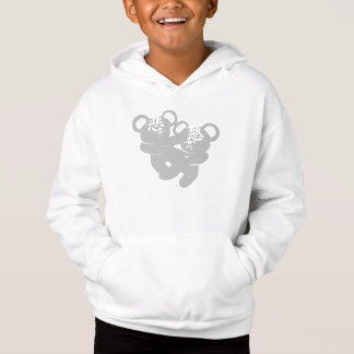 CI BEI BEAR WHITE SWEATSHIRT