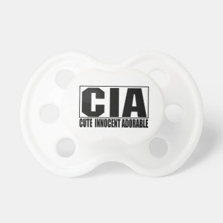 CIA Cute Innocent Adorable Pacifier