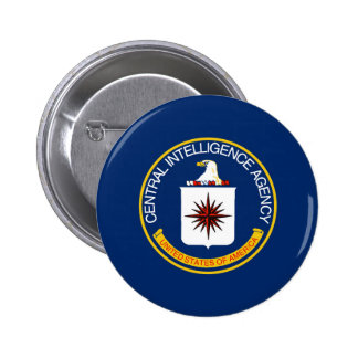 CIA Flag 2 Inch Round Button
