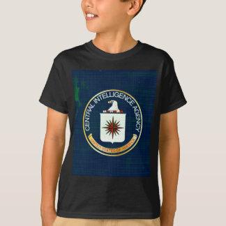 CIA Flag Grunge T-Shirt