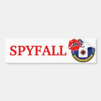 CIA - Spyfall Bumper Sticker