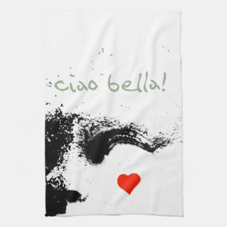 ciao bella! kitchen towel