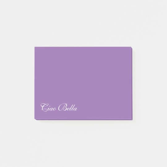 Ciao bella post-it notepads