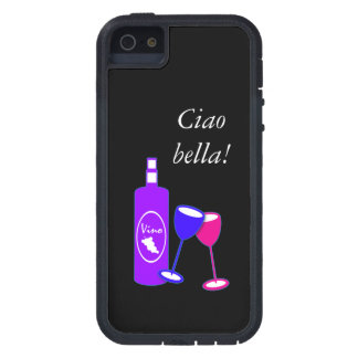 Ciao BellaWine Theme Iphone Touch Case