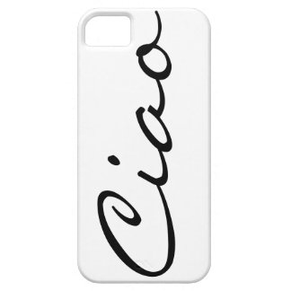 Ciao hello Italian funny hipster trendy modern Case For The iPhone 5