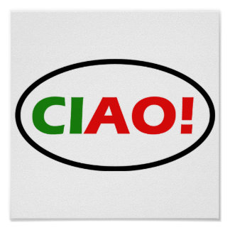 Ciao! Poster