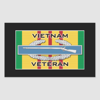 CIB Vietnam Veteran Sticker