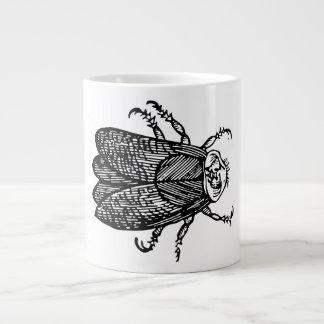 Cicada coffee large coffee mug