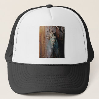 Cicada dries his wings trucker hat
