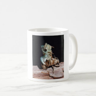Cicada Emerging from Shell Coffee Mug
