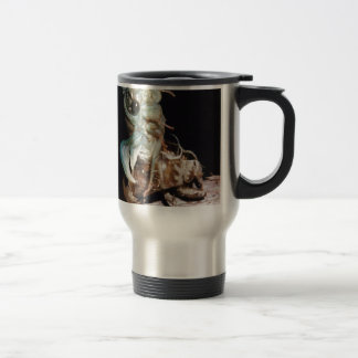 Cicada Emerging from Shell Travel Mug