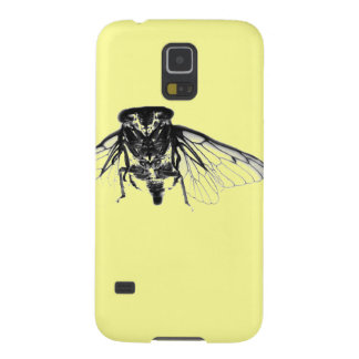 Cicada in Yellow Cases For Galaxy S5