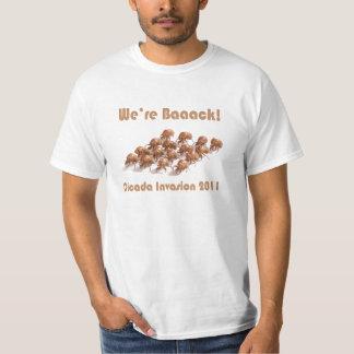 Cicada Invasion 2011 T-Shirt