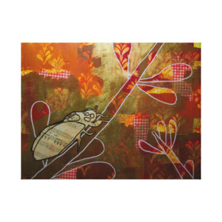 Cicada Music Canvas Print
