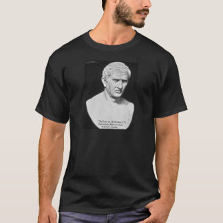 """Cicero """"Good & Evil"""" Wisdom Quote Cards & Gifts T-Shirt"""