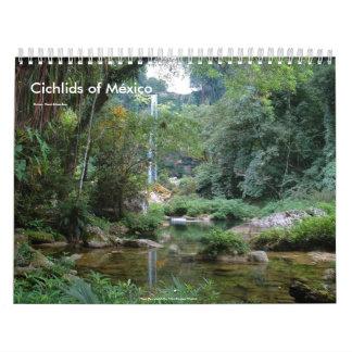 Cichlids of Mexico Wall Calendars
