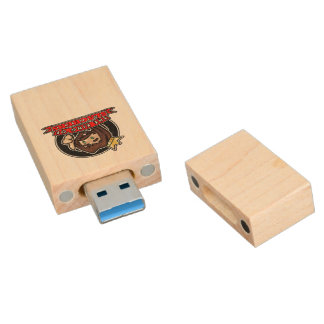 Cicrle Logo - Maple, 8gb, Rectangle Wood USB 3.0 Flash Drive