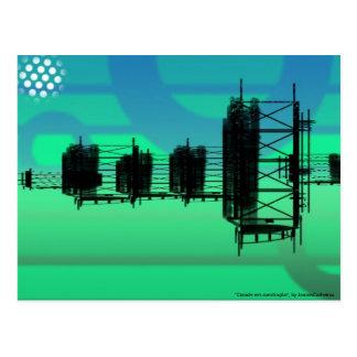 """""""Cidade em construção"""" by JoaoMCalheiros Postcard"""
