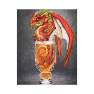 Cider Dragon 8x10 Canvas Print