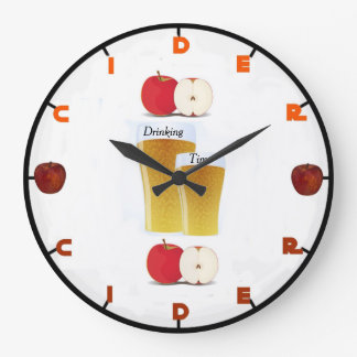 Cider Wall Clock