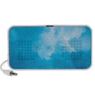 Ciel bleu haut-parleur mp3