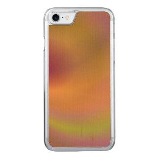 Ciel orange d'imaginaire coque iphone 7 en bois