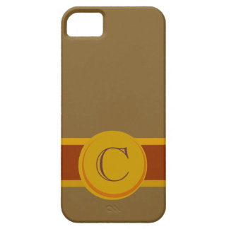 Cigar Band with Monogram iPhone 5 Case