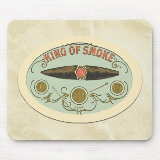 Cigar Lovers: King of Smoke Mouse Pads