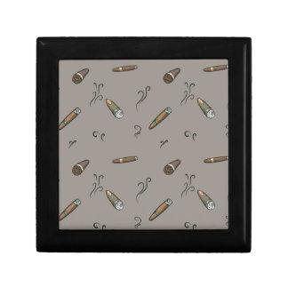 Cigar Pattern Gift Box