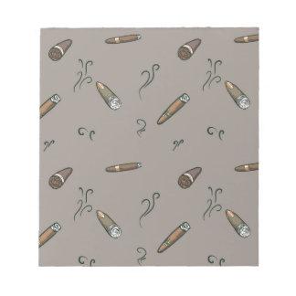 Cigar Pattern Notepads