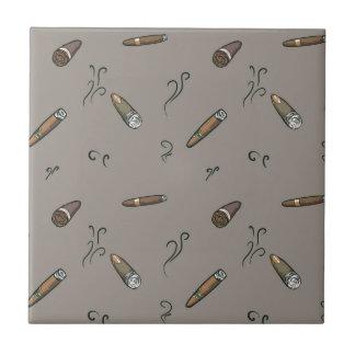 Cigar Pattern Tile