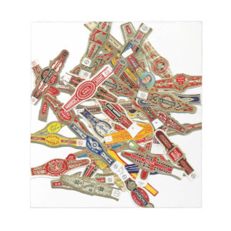 Cigar Ring Wrappers Notepads