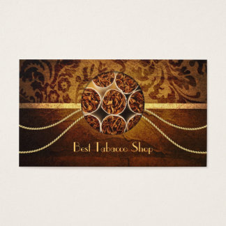 Cigar Shop Vintage Business Card