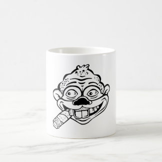 Cigar Smoking Monkey Coffee Mug