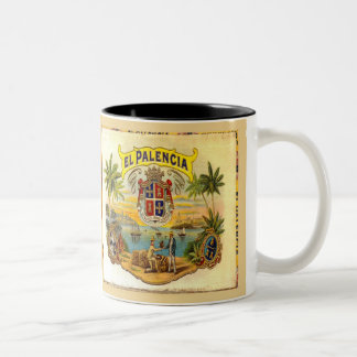 Cigar vintage graphics from cigar box Mug