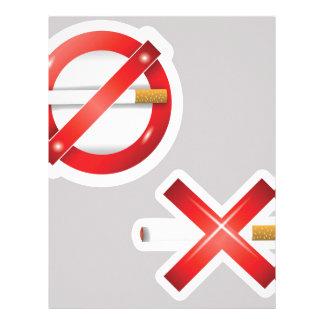 cigarette letterhead