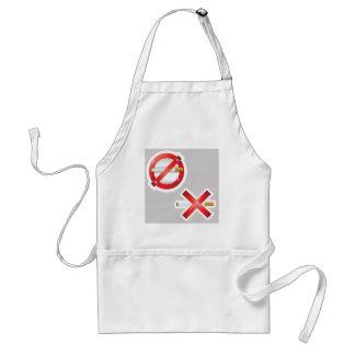 cigarette standard apron