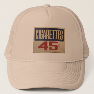 cigarettes 45¢ trucker hat