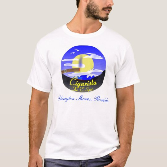 Cigarista Logo Shirts, Redington Shores, Florida T-Shirt