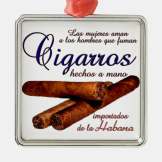 Cigarros - Cirars Metal Ornament